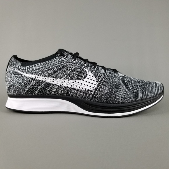 Nike Flyknit Racer 2.0 Oreo Men s Running Shoes 11 d50b865d0